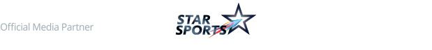 Official Media Partner. Star Sports